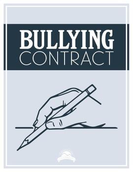 Bullying Contract {Editable}
