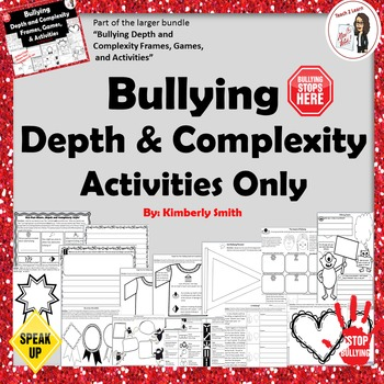 Bullying Depth and Complexity Activities Only
