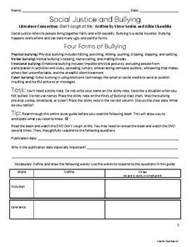 Social Justice: Bullying