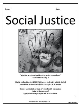 Social Justice And Bullying: Mini-Course And Bulletin Board