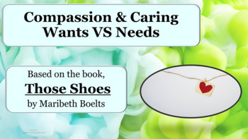 "Bullying Empathy Friendship Lesson w 2 Video links based on ""Those Shoes"""
