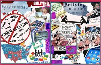 Bullying Law - Bullying at School & Away - High Tech - FREE POSTER
