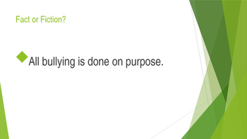 Bullying Fact or Fiction Challenge