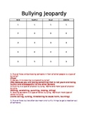 Bullying Jeopardy