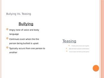 Bullying Lesson