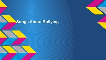 Bullying Music Videos Watch and Respond