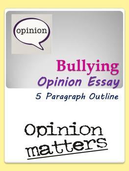 Bullying Opinion Essay