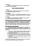 Bullying Packet / Anti-Bullying
