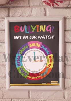 Bullying Poster – Freebie!