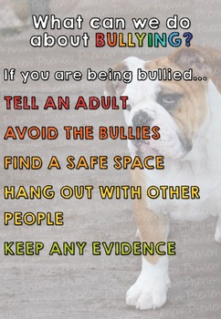 Bullying Posters
