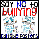 Bullying Posters editable