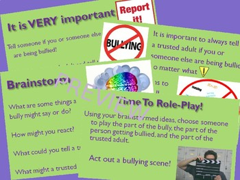 """All About Bullying"" PowerPoint Presentation for Secondary Life Skills Students"