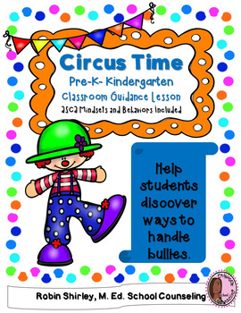Bullying- Pre-K- Kindergarten Classroom Guidance Lesson