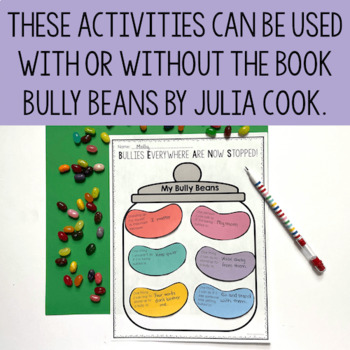 Bullying Prevention Activities - Bully Beans Book Companion