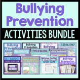 Bullying Prevention Activities Bundle (Save 20%!)