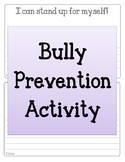 Bullying Prevention Activity