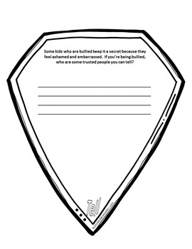 Bullying Prevention: Bully Proof Shield Activity