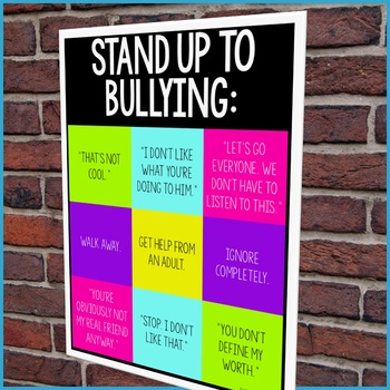 Bullying Prevention Classroom Guidance Lesson (Upper Elementary)