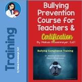 Bullying Prevention Course for Teachers