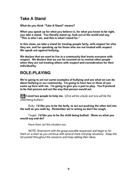 Bullying Prevention - Fourth Grade