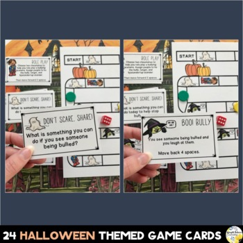 Bullying Prevention Halloween Board Game