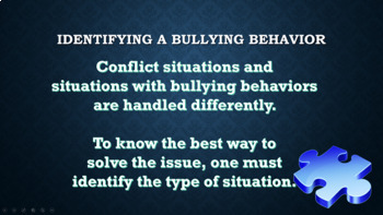 Identifying Prevention of Bullying w Video, Poster & Parent Letter PBIS