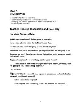 Bullying Prevention - Kindergarten & ECE