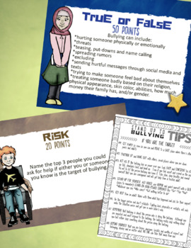 Prevent Bullying Lesson: Bully-Proof w/ Empathy & Self-Esteem Game *Low-Prep!