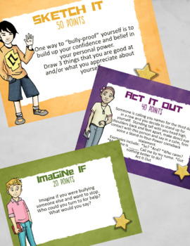 Bullying: School Counseling Lesson about Bully-Proofing w/ Empathy & Self-Esteem