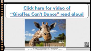 "Bullying Prevention Lesson ""Giraffes Can't Dance"" video link PBIS Tolerance"