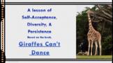 Giraffes Can't Dance Bullying Prevention No Prep SEL Lesson w video PBIS MTSS