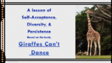 "Bullying Prevention Lesson ""Giraffes Can't Dance"" video li"