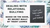 My Secret Bully No Prep SEL Lesson w 4 videos Emotional Bullying Prevention PBIS