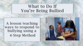 "Bullying Prevention Lesson ""What To Do About Bullying"" w video link PBIS"