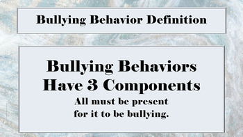 """Bullying Prevention Lesson """"What To Do About Bullying"""" w video link PBIS"""