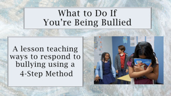 "Bullying Prevention Lesson ""What To Do About Bullying"" w v"