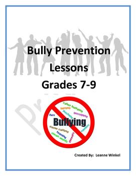 Bullying Prevention Lessons