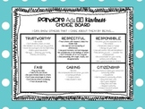 Bullying Prevention Month: Random Acts of Kindness Choice Board
