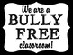 Bullying Prevention Poster FREEBIE