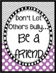 Bullying Prevention Posters Freebie