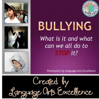 Bullying Prevention Powerpoint