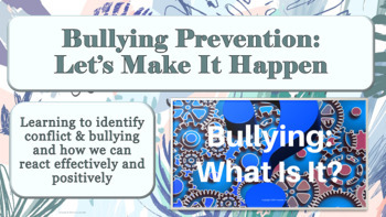 Bullying Prevention Week Assembly PPT PBIS Character Ed w