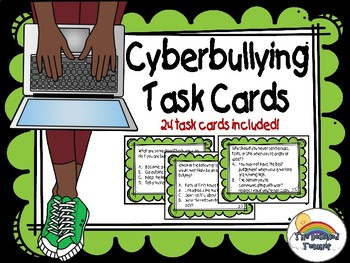 Bullying Task Card Activity Game
