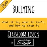 3rd Gr. Bullying Lesson - What it is, what it isn't, and h