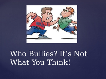 Bullying - What it is and what you can do about it.