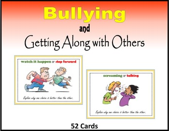 Bullying and Getting Along with Others (This or That Game)