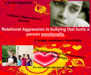 Bullying and Relational Aggression: PDF Guidance lesson
