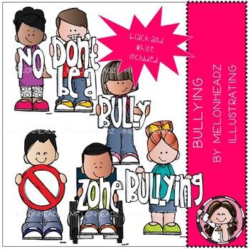 Bullying clip art - Mini - Melonheadz Clipart