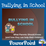 Bullying in School PowerPoint -  What Parents Should Know