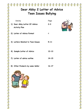 write to dear abby This story characters write to dear abby lesson plan is suitable for 3rd - 12th grade students play the roles of a book character and an advice columnist in this activity involving writing friendly letters and solving problems they offer advice in response to letters sent to an advice columnist for their local newspaper.